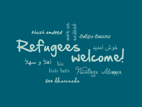 mosign Refugees Welcome